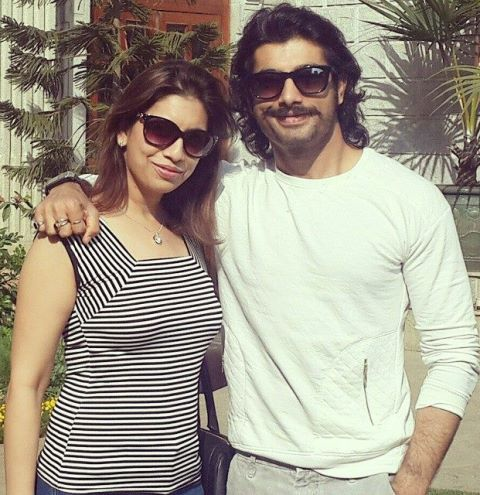 Sharad Malhotra with his sister
