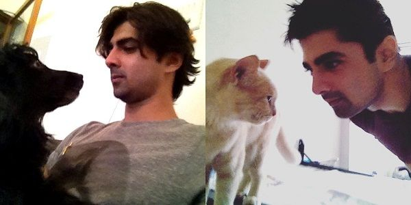 Shehzad Shaikh loves animals