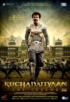 Soundarya Rajinikanth's Tamil film debut as a director in Kochadaiiyaan (2014)