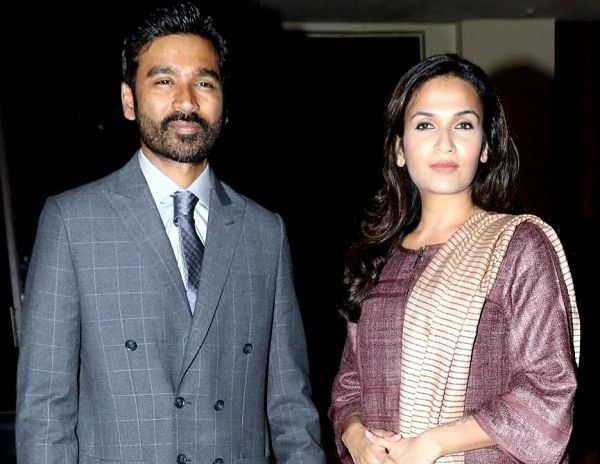 Soundarya Rajinikanth's sister Aishwarya R. Dhanush and brother-in-law Dhanush