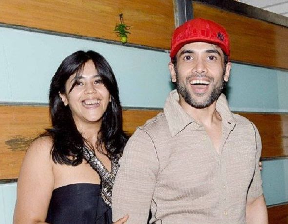 Tusshar Kapoor with his sister