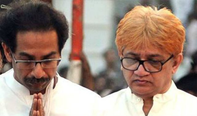 Uddhav and Jaidev Thackeray