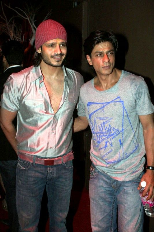 Vivek Oberoi with Shah Rukh Khan