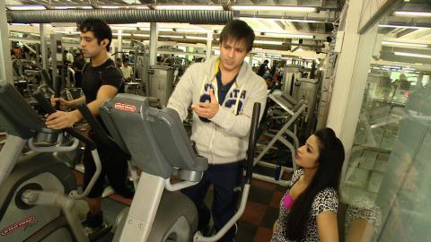 Vivek oberoi gyming