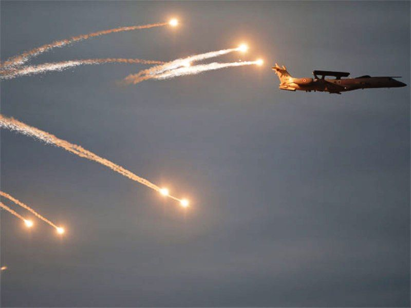 A Jet Plane Of The Indian Air Force During The Airstrike In Balakot