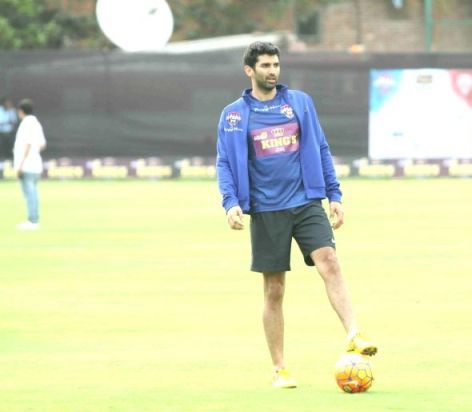 Aditya Roy Kapur playing football