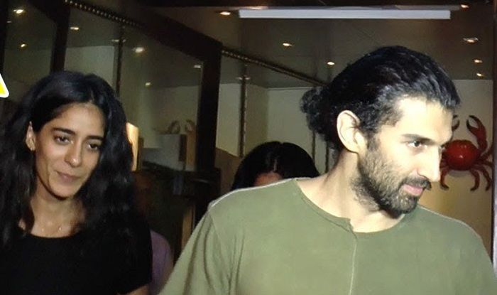 Aditya Roy Kapur with Diva Dhawan