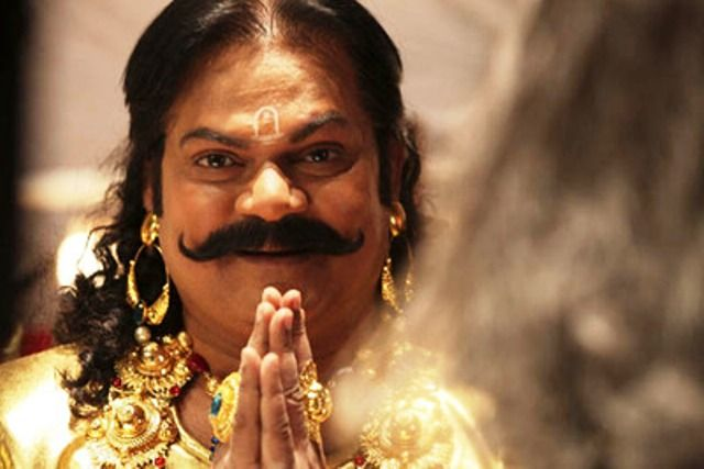 Akhilendra Mishra as Kans in Mahabharat