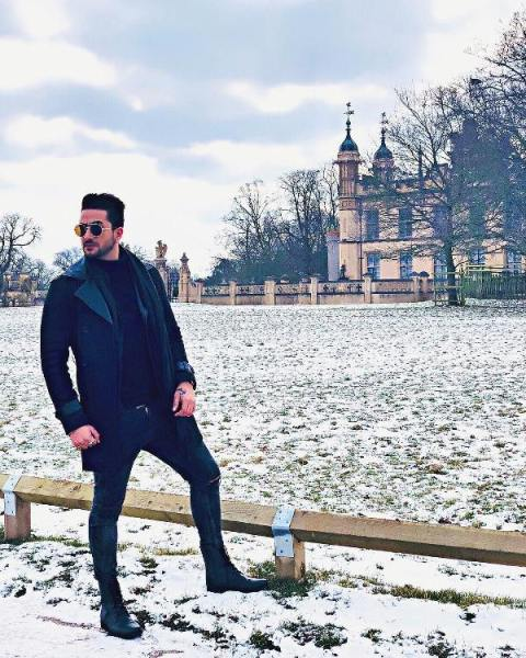 Aly Goni in London