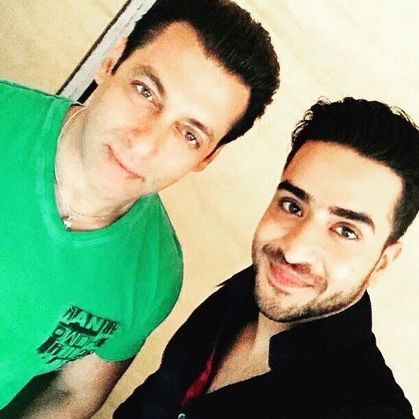 Aly Goni with Salman Khan