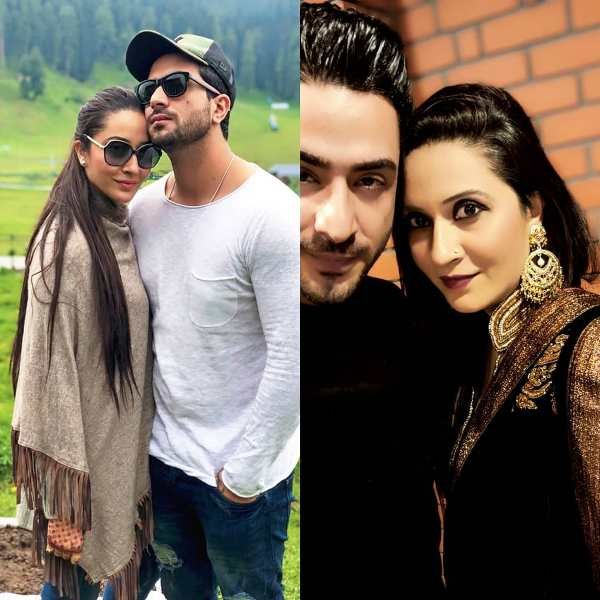 Aly Goni with his sister Ilham Goni