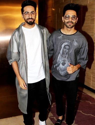 Aparshakti Khurana with his brother