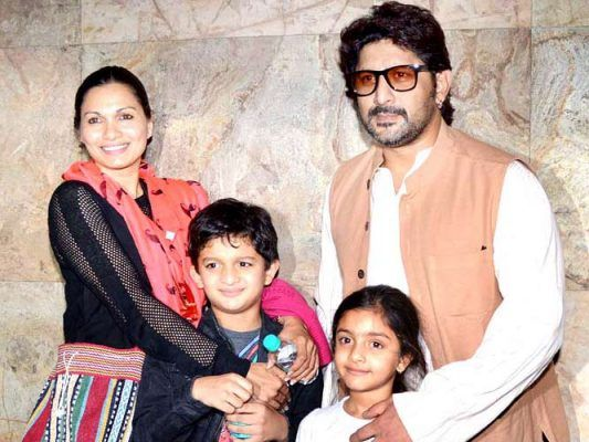 Arshad Warsi With His Family