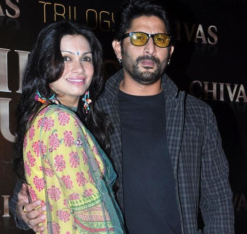 Arshad Warsi With His Wife