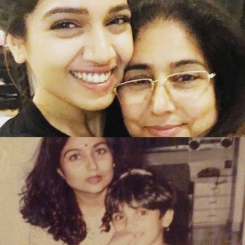 Bhumi Pednekar with her mother
