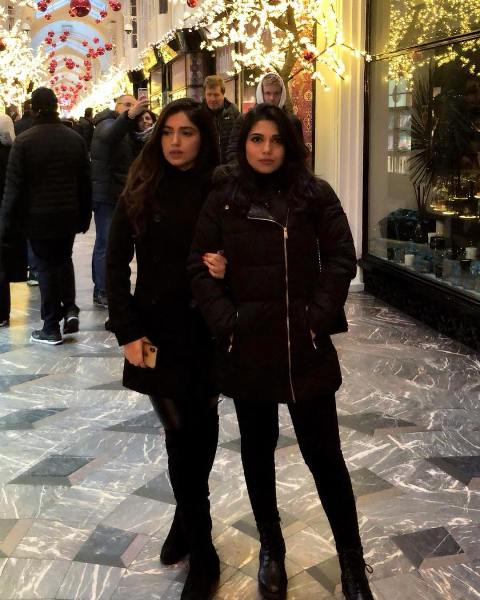 Bhumi Pednekar with her sister