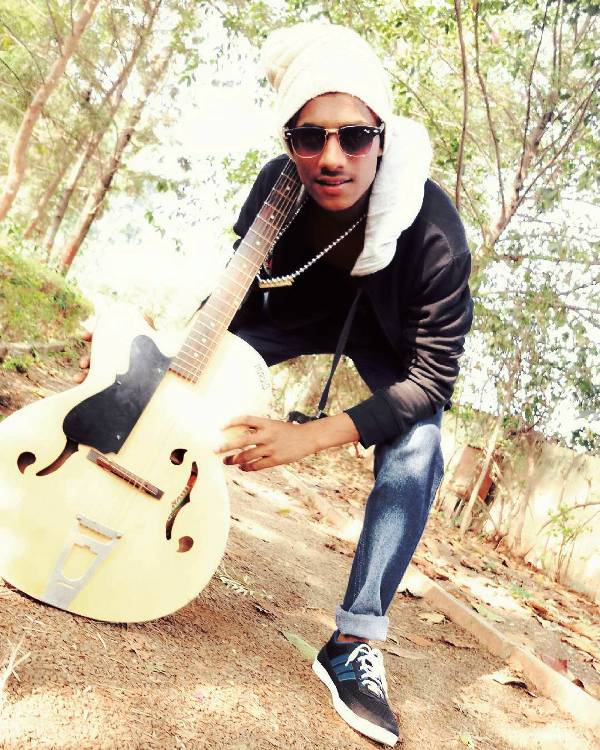Chetan Salunkhe Loves to Play The Guitar
