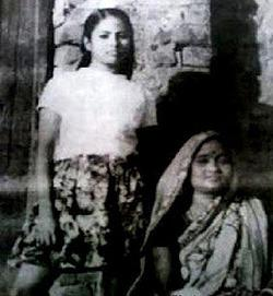 Childhood photo of Mamta Banerjee
