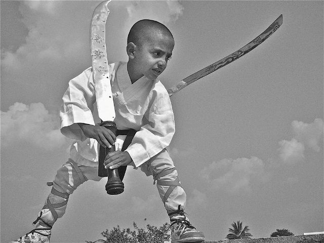 Childhood picture of grandmaster shifuji