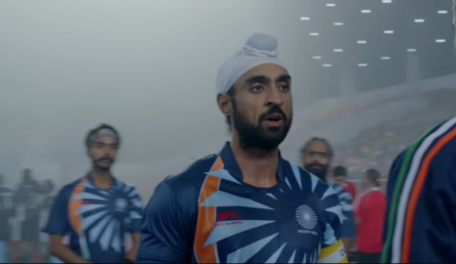 Diljit Dosanjh in a still from Soorma