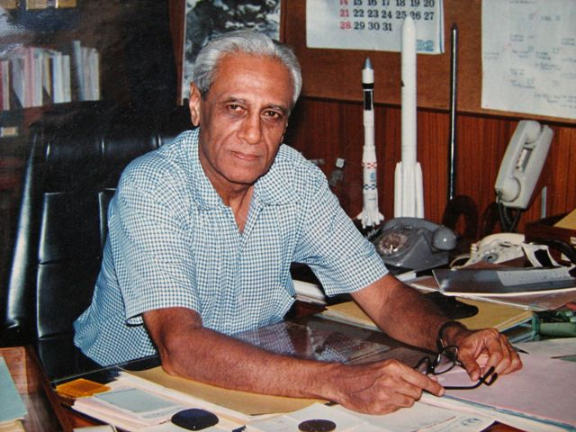 ISRO Chairman, Satish Dhawan