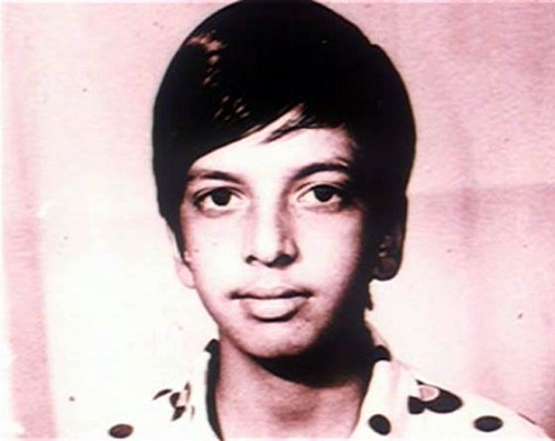 Javed Jaffrey's childhood picture