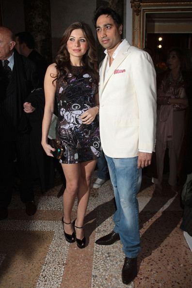 Kanika Kapoor with her ex-husband