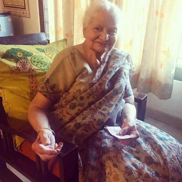 Kanika Kapoor's grandmother