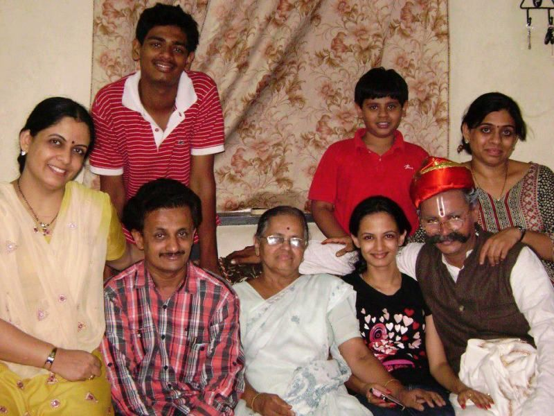 Ketaki Matehaonkar with her family