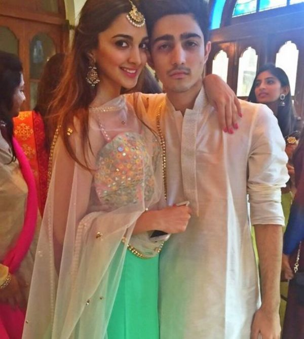 Kiara Advani With Her Brother Mishaal