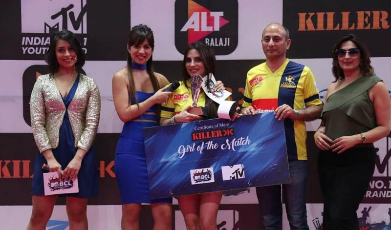 Mansi Sharma in BCL
