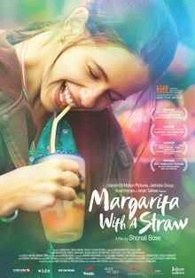 Margrita with a straw