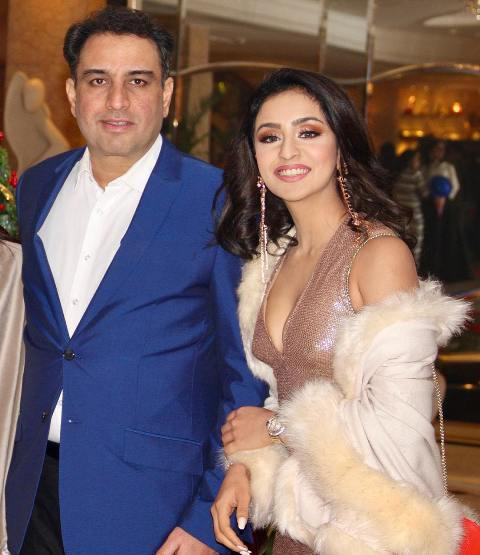 Musskan Sethi with her father