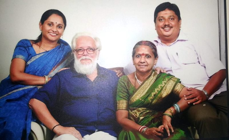Nambi Narayanan With His Family