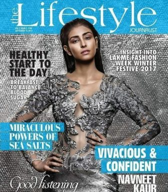 Navneet Kaur Dhillon on magazine cover