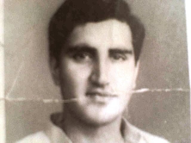 Old photo of Shah Mehmood Qureshi