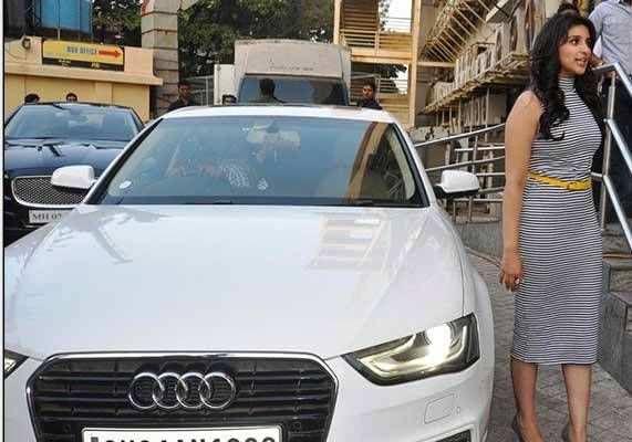 Parineeti Chopra Audi A6