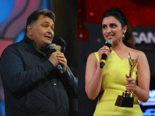 Parineeti Chopra and Rishi Kapoor controversy