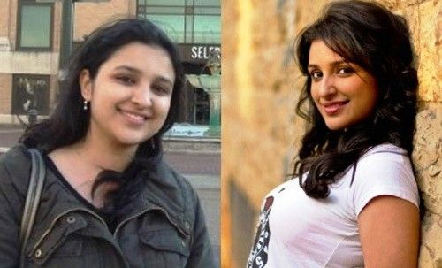 Parineeti Chopra before and after weight loss