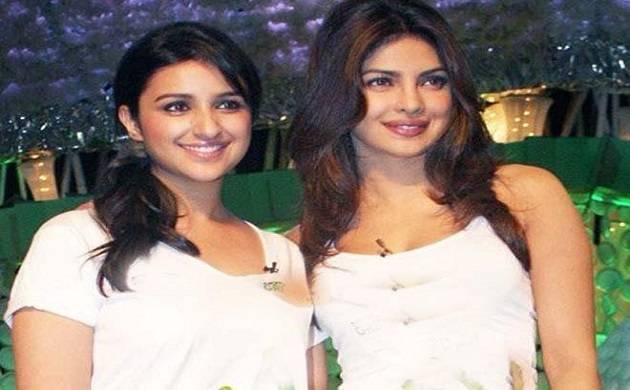 Parineeti Chopra with Priyanka Chopra