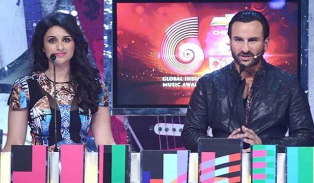 Parineeti Chopra with Saif Ali khan