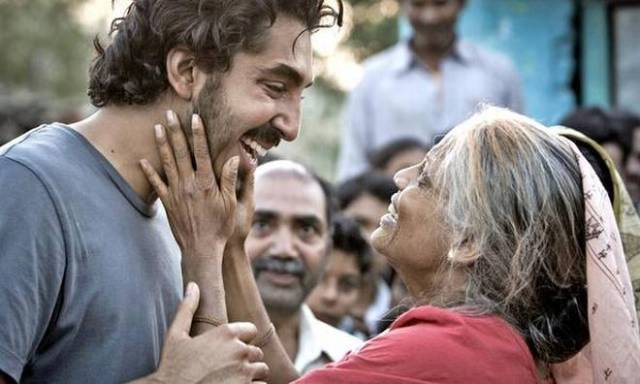 Priyanka Bose with Dev Patel in Lion