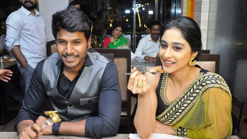 Regina Cassandra with Sundeep Kishan