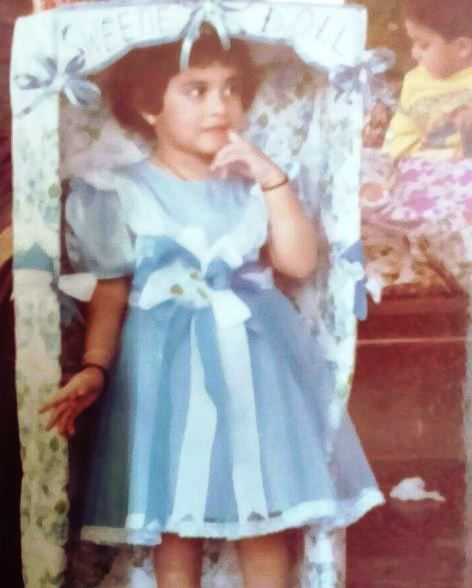 Regina Cassandra's childhood photo
