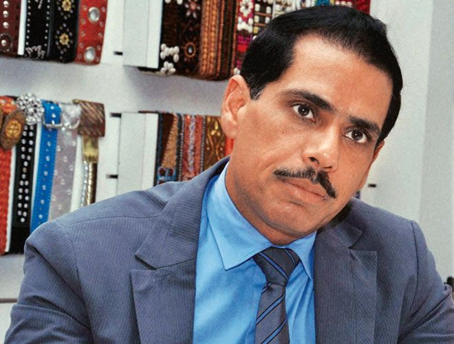 Rajiv Gandhi's Son-In-Law Robert Vadra