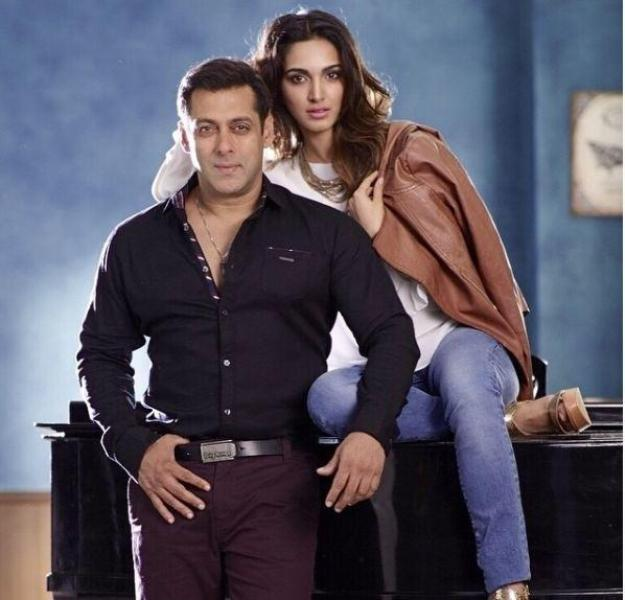 Salman Khan With Kiara