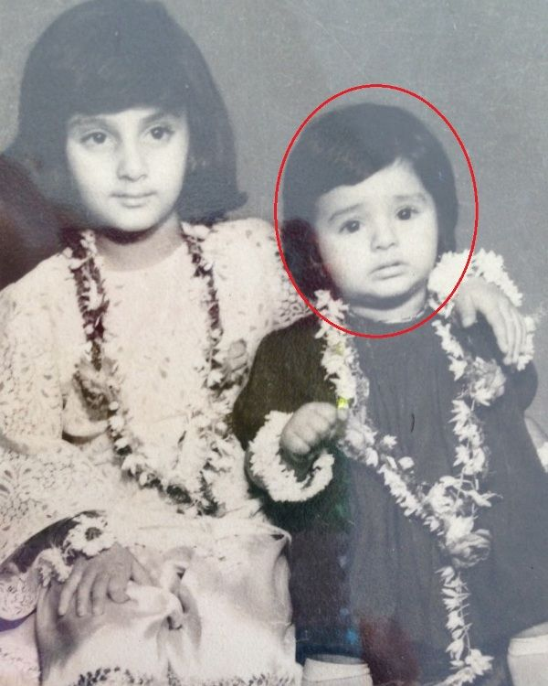 Tabu in her childhood