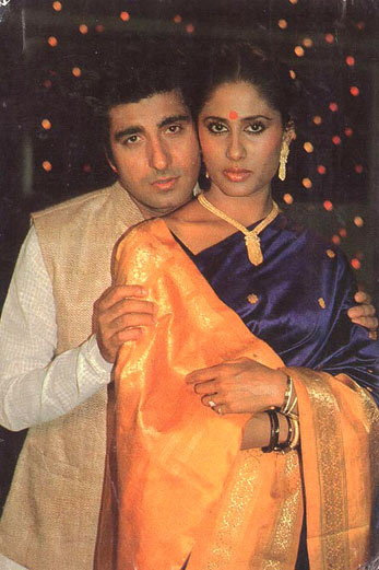 Smita Patil and Raj Babbar