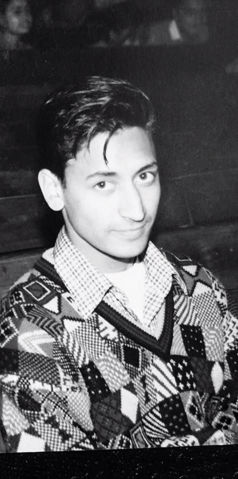 17 Years Old Deepak Rawat During His Hansraj College Days