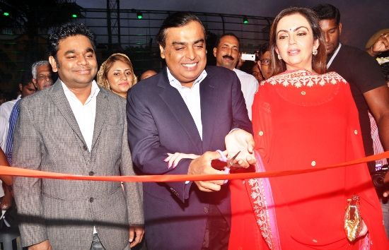 A. R. Rahman KM College of Music and Technology inaugrated by Mukesh Ambani